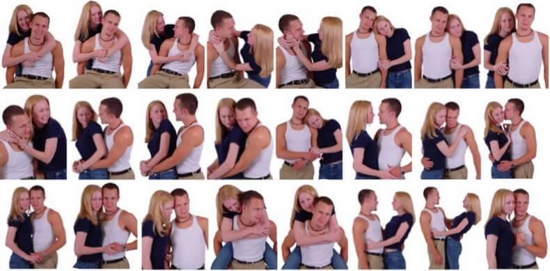 Позы для фотосессий с парнем и девушкой