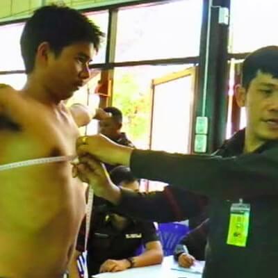 Призыв в тайскую армию