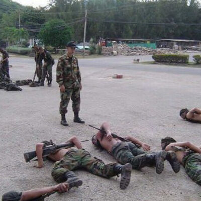 Тайский спецназ