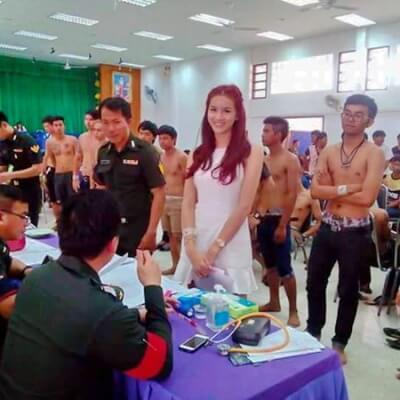 Трансы в тайской армии