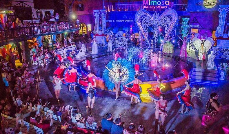 Кабаре шоу Мимоза в Паттайе