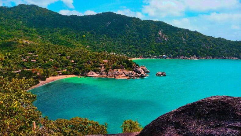 Остров Панган в Тайланде