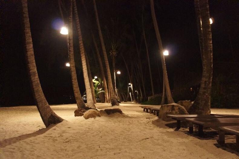 Остров Ко Куд ночью