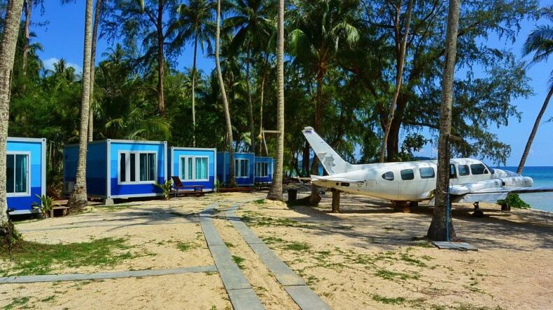 Отели на побережье острова Ко Куд