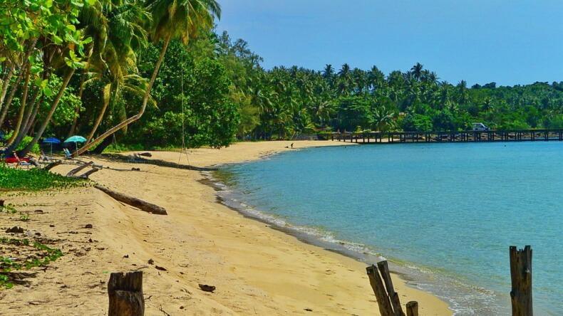 Пляж Тапхао на острове Ко Куд