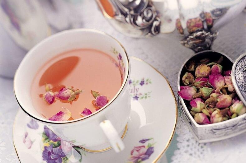 Розовый чай из Тайланда