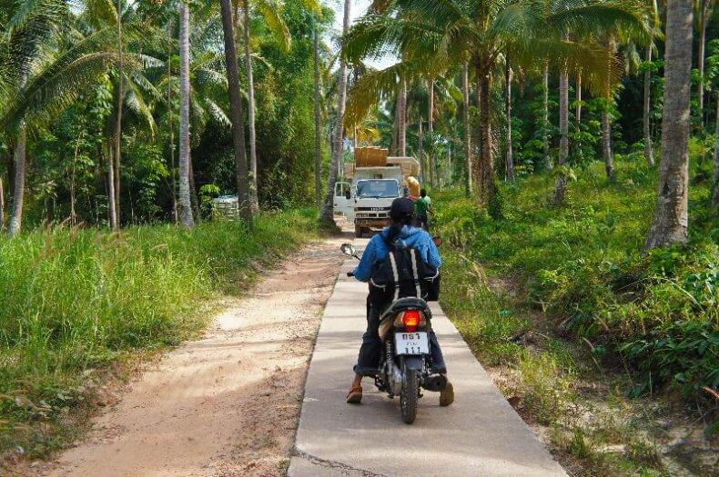 Транспорт на острове Ко Куд