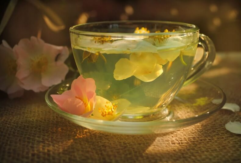 Жасминовый чай из Тайланда