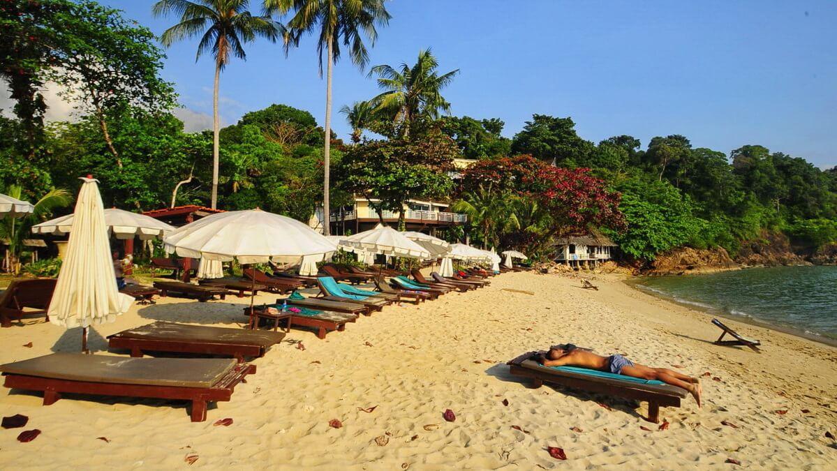 Райские туристические секс острова