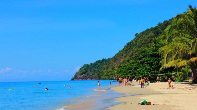 Пляж Вайт Сенд Бич на Ко Чанге