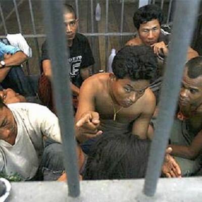 Тайландская тюрьма