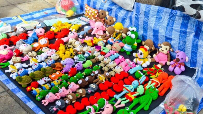 Мягкие игрушки в Тайланде