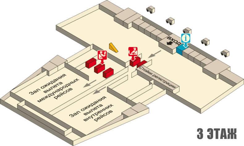 Аэропорт Краби - 3 этаж