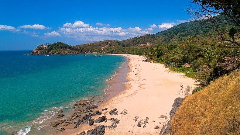 Пляж Kantiang Beach на острове Ко Ланта