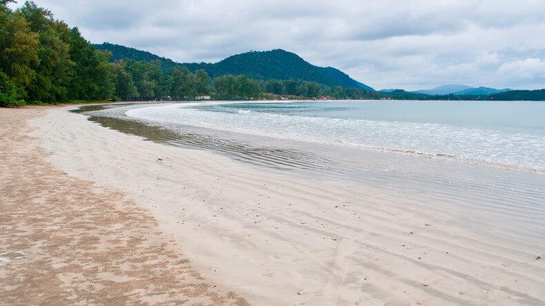 Пляж Kor Kwang beach на острове Ко Ланта