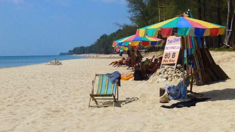 Пляж Pra Ae Beach на острове Ко Ланта