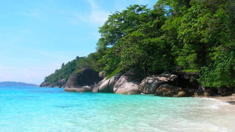 Отдых на Симиланских островах