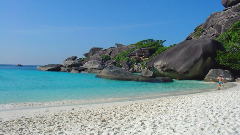 Пляжи на Симиланских островах