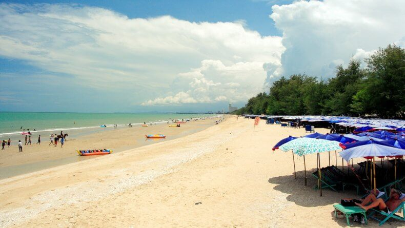 Пляж Ча Ам в Хуа Хине