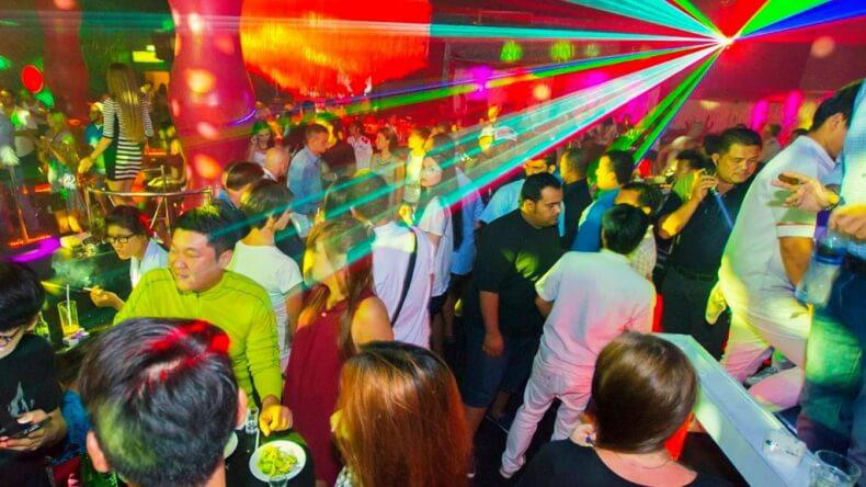 Ночной клуб Микс в Паттайе