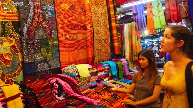 Продавцы в Тайланде