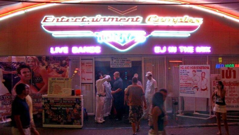Ночной клуб Tonys Disco в Паттайе