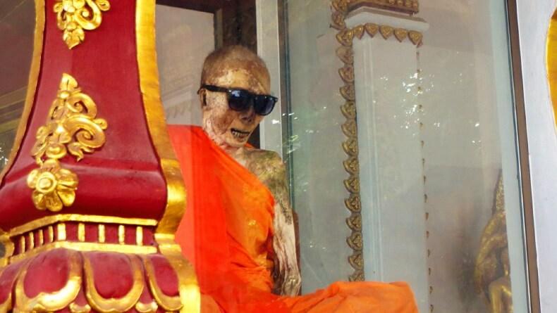 Мумия монаха на Самуи