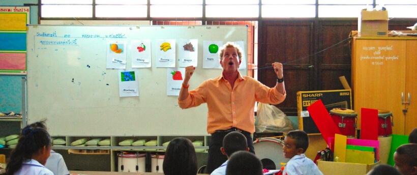Работа учителем в Тайланде