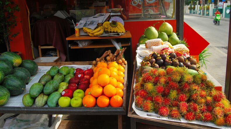 Фруктовые рынки на Самуи