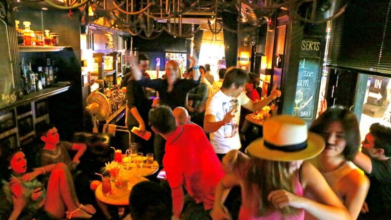 Ночной клуб Escobar в Бангкоке