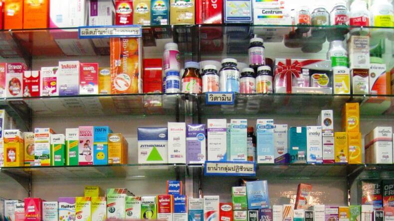 Аптеки в паттайе что купить