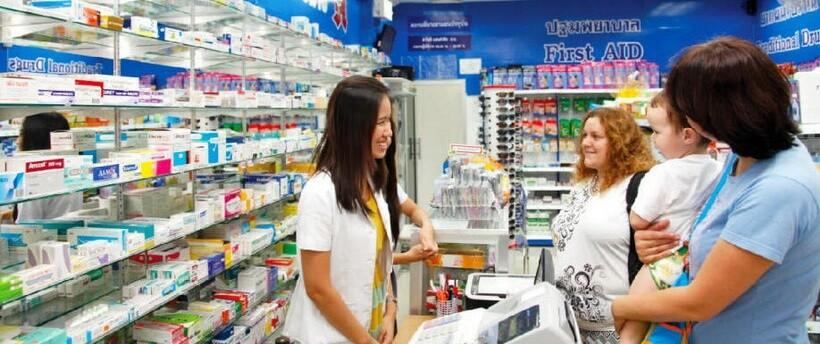 Аптеки Паттайи