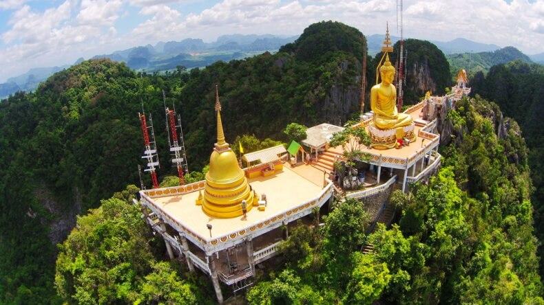 Храм Wat Tham Suea в Краби