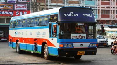 Рейсовый автобус 2 класса в Тайланде