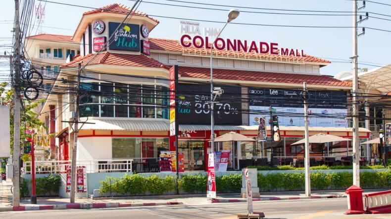 Торговый центр Colonnade Mall в Хуа Хине