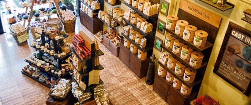 Магазин чая Tea Village в Паттайе