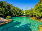 Изумрудное озеро в Краби