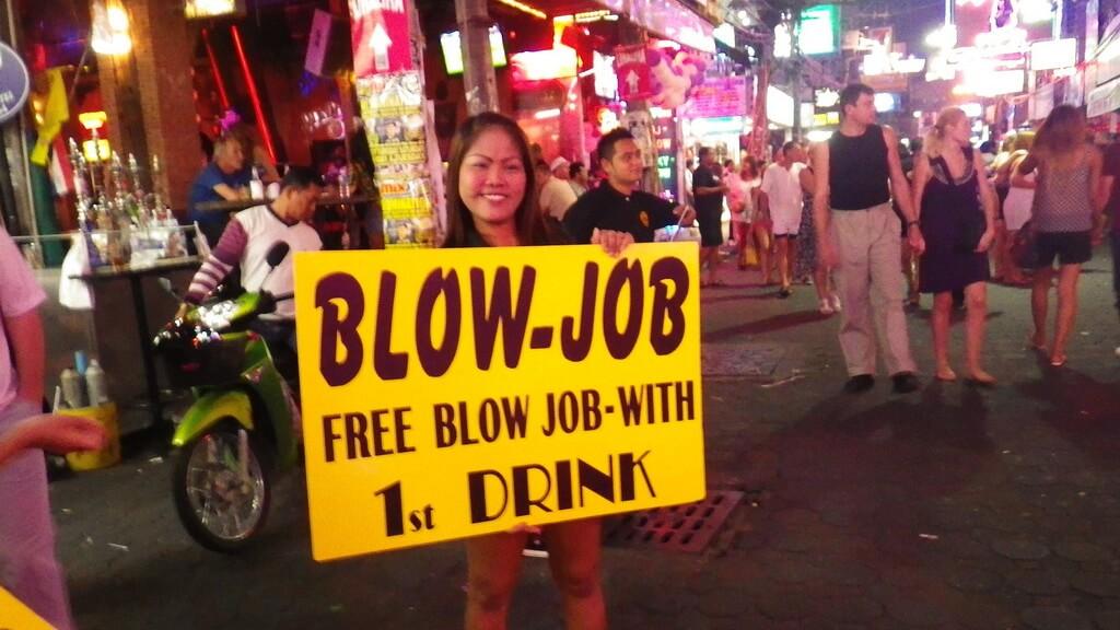 Джоб паттайе тайланде в бары блоу бары миньет в