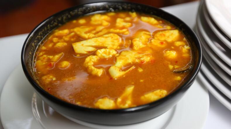 Блюда тайской кухни - Кунг Сом (Gang Som)