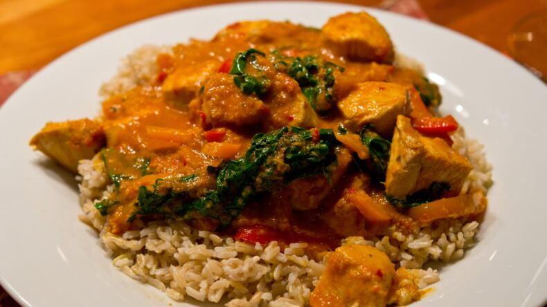 Блюда тайской кухни - Пананг Гай (Panang Gai)