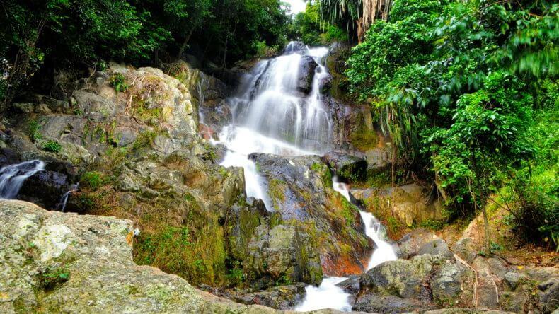 Водопад Na Muang 2 на Самуи