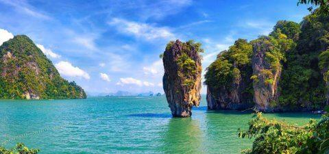 джеймса фото в остров бонда тайланде