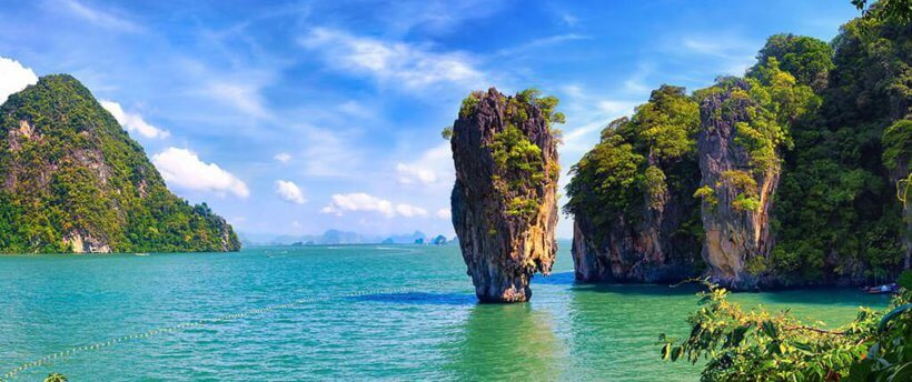 Остров Джеймса Бонда в Тайланде