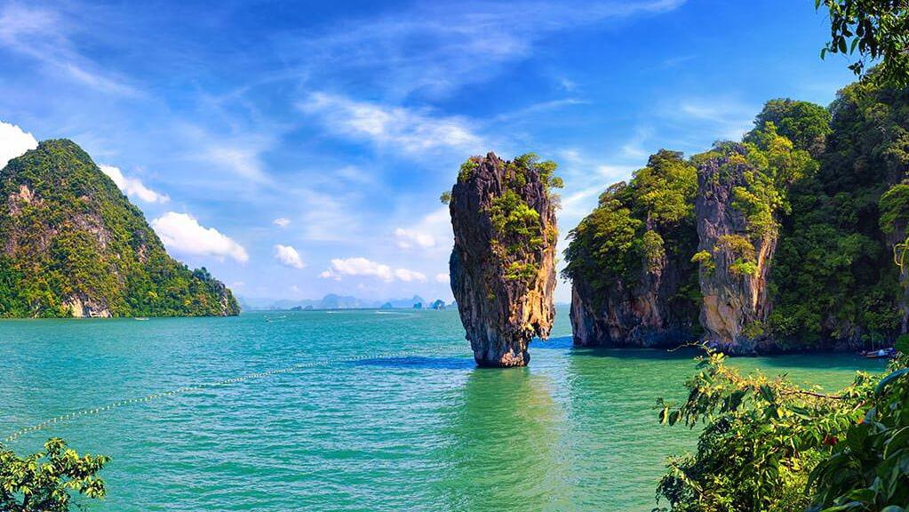 тайланде в джеймса фото бонда остров