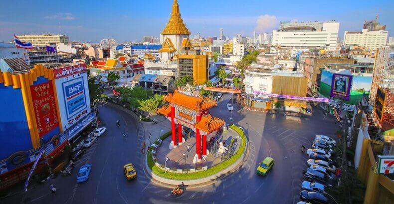 Район Чайна-Таун (Chinatown) в Бангкоке