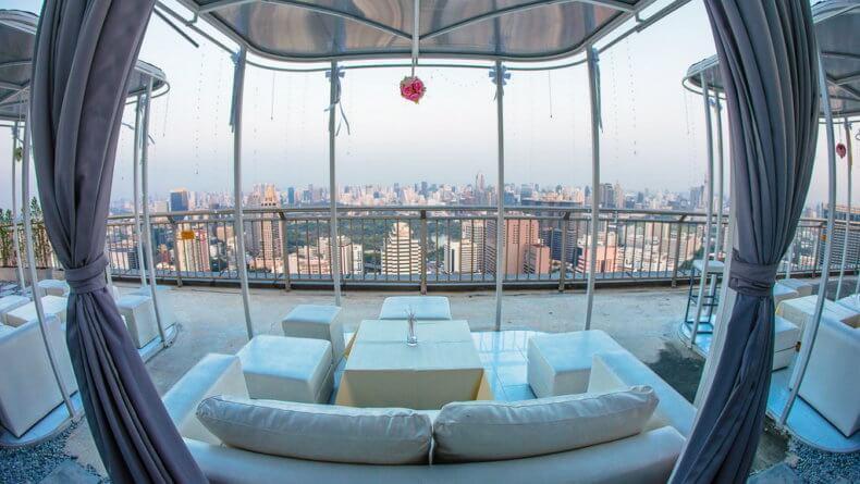 Смотровые площадки Бангкока - бар Cloud 47