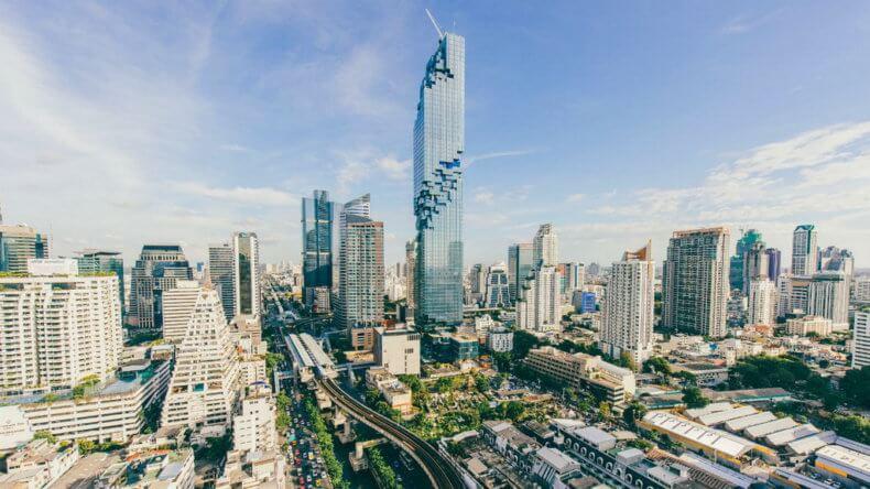 Смотровые площадки Бангкока - небоскреб MahaNakhon