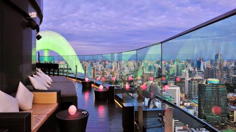 Смотровые площадки Бангкока - Sky Bar