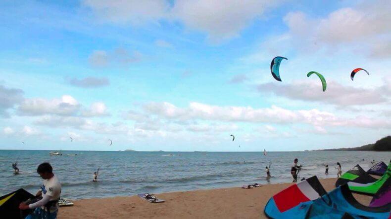 Серфинг в Районге