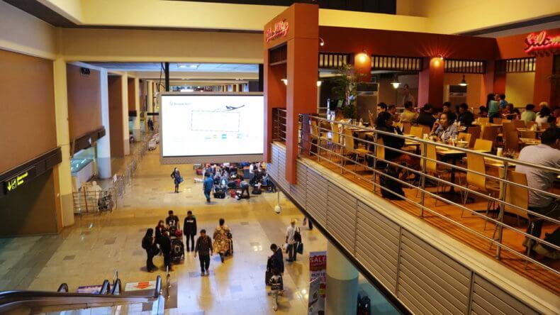 Аэропорт Дон Муанг в Бангкоке - 4 этаж